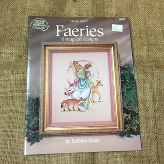 "Book - Cross Stitch called ""Faeries"""