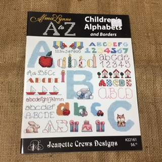 Book - Alma Lynne's A to Z, Children's Alphabets and Borders