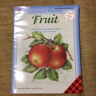 Book - Folk Art - Fruit by Plaid