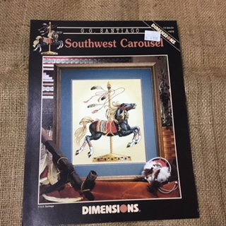 Leaflet - Cross Stitch - Southwest Carousel