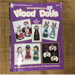 Book - Whimsical Wood Dolls by Deborah Milne