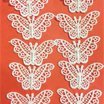10 Lace Butterflies