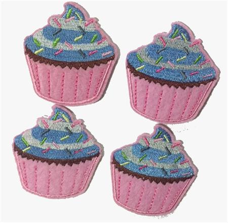 4 Cup Cake Motifs