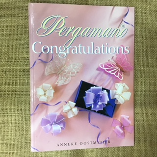 Book - Pergamano  Congratulations by Anneke Oostmeijer