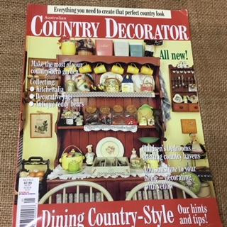 Magazines - Australia Country Decorator