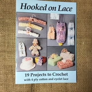 Book - Hooked on Lace by Vicki Moore