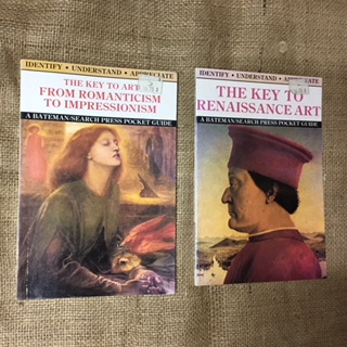 Book - The Key to Renaissance Art or Romanticism to Impressionism