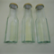 Sauce bottles glass hexagonal with new gold lid x 20