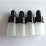 Perfume oil Glass Bottle Rubber Sqeeze Top Sample Dropper x 4