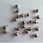 Silver tone Bell Charms x 20 pcs