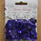 Dark Purple 12mm sequins - Maria George brand