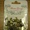 Gold Metallic Studs 10mm round pyramid - Maria George brand