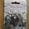 Silver star 10mm sequins - Maria George brand