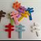 Miniature Fairy Garden Doll House Wooden Sign Post x 10pcs
