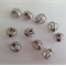 Silver Tone Bead Cage for Jewellery Making x 10 pcs