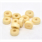 100 Natural Colour Rondell Wood Spacer Beads 8mm