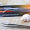 Vetus Stainless steel Curved Tweezers  7-SA