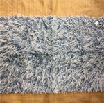 Synthetic Fur - for toy/bear making - shady pile/blue