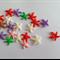 Acrylic Starfish Flatback For Card Making / Dolls House x 20pcs