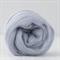 Merino wool tops / roving 19 micron – Shabby grey - 50 gm