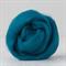 Merino wool tops / roving 19 micron – Teal - 50 gm