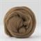 Merino wool tops / roving 19 micron – Nut - 50 gm