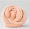Merino wool tops / roving 19 micron – Flamingo - 50 gm