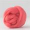 Merino wool tops / roving 19 micron – Coral - 50 gm