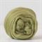 Merino wool tops / roving 19 micron – Asparagus - 50 gm