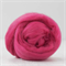Merino wool tops / roving 19 micron – Raspberry - 50 gm