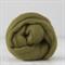 Merino wool tops / roving 19 micron – Olive - 50 gm