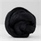 Merino wool tops / roving 19 micron – Dark (black) - 50 gm