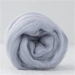 Merino wool tops / roving 19 micron – Shabby grey - 50 gm