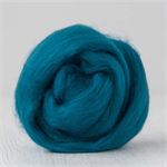 Merino wool tops / roving 19 micron – Teal - 50 gm
