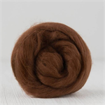 Merino wool tops / roving 19 micron – Bark - 50 gm