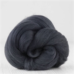 Merino wool tops / roving 19 micron – Graphite - 50 gm