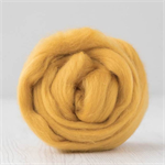 Merino wool tops / roving 19 micron – Honey - 50 gm