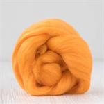 Merino wool tops / roving 19 micron – Melon - 50 gm