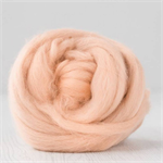 Merino wool tops / roving 19 micron – Flamingo - 50 gm