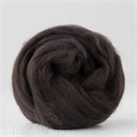 Merino wool tops / roving 19 micron – Coffee - 50 gm