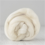 Merino wool tops / roving 19 micron – Natural - 50 gm