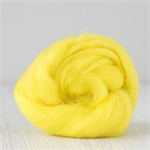 Merino wool tops / roving 19 micron – Sun - 50 gm