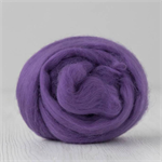 Merino wool tops / roving 19 micron – Violet - 50 gm
