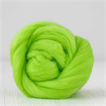Merino wool tops / roving 19 micron – Mint - 50 gm