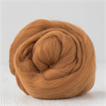 Merino wool tops / roving 19 micron – Cinnamon - 50 gm