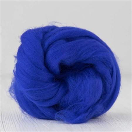 Merino wool tops / roving 19 micron – Peacock - 50 gm