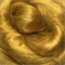 Viscose tops / roving - 20 gm - Honey - gold