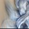 Viscose tops / roving - 20 gm - Sunrise - pale blue