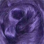 Viscose tops / roving - 20 gm - Violet - medium purple