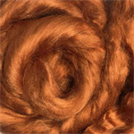 Viscose tops / roving - 20 gm - Cinnamon